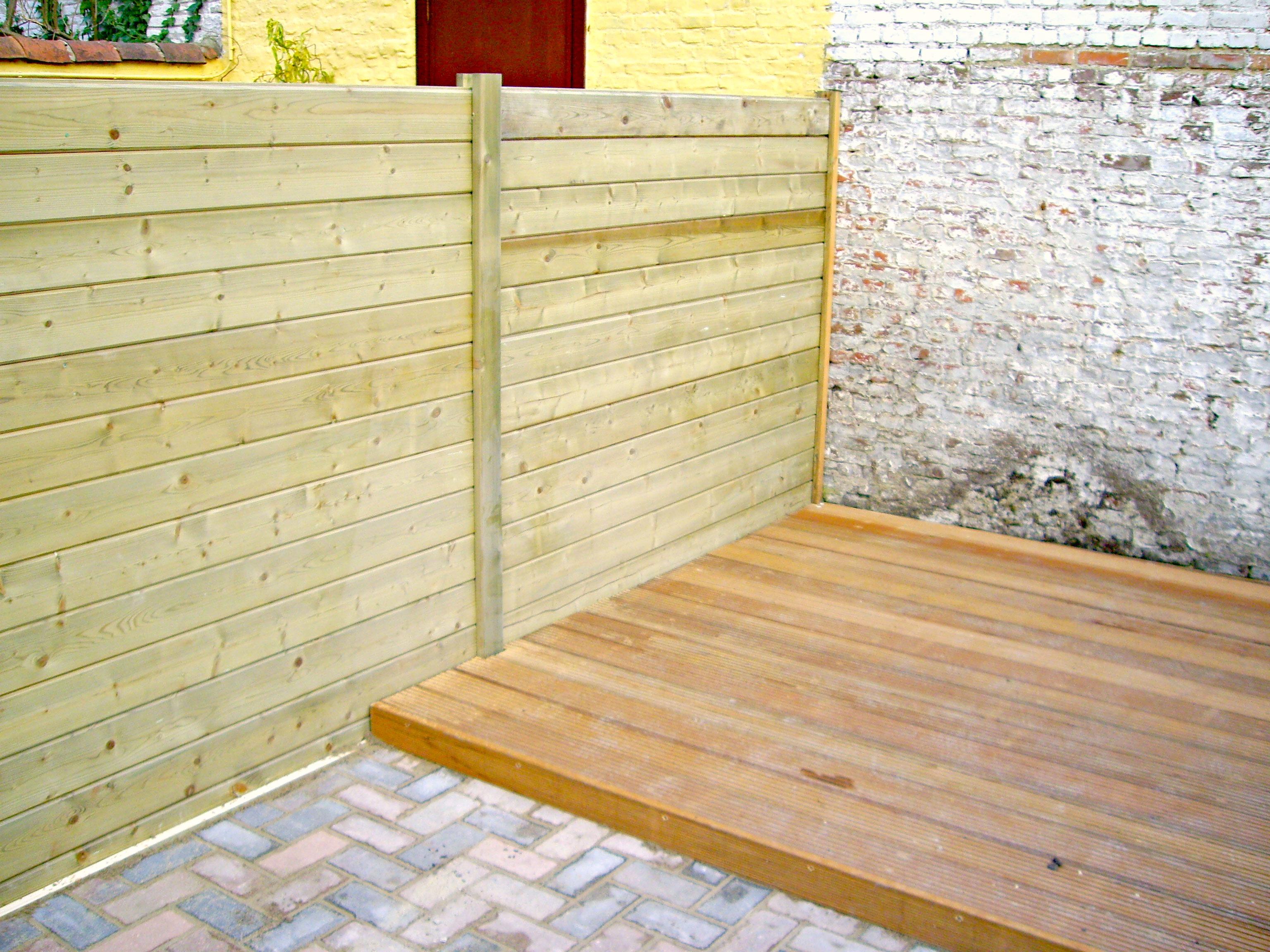Gevelbekleding en buitentimmerwerken alfa construct - Bedek een houten terras ...